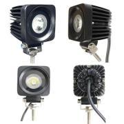 10W Spot/Flood LED Work Light OffRoad Jeep Boat Truck IP67 12V 24V