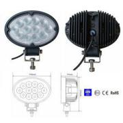 36W Spot/Flood LED Work Light OffRoad Jeep Boat Truck IP67 12V 24V