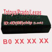 4D (68) Chip For Toyota/Prado/Lexus B0xxx 10pcs/lot