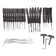 KLOM Kit-Including 22 Auto and Civil Locks Tools