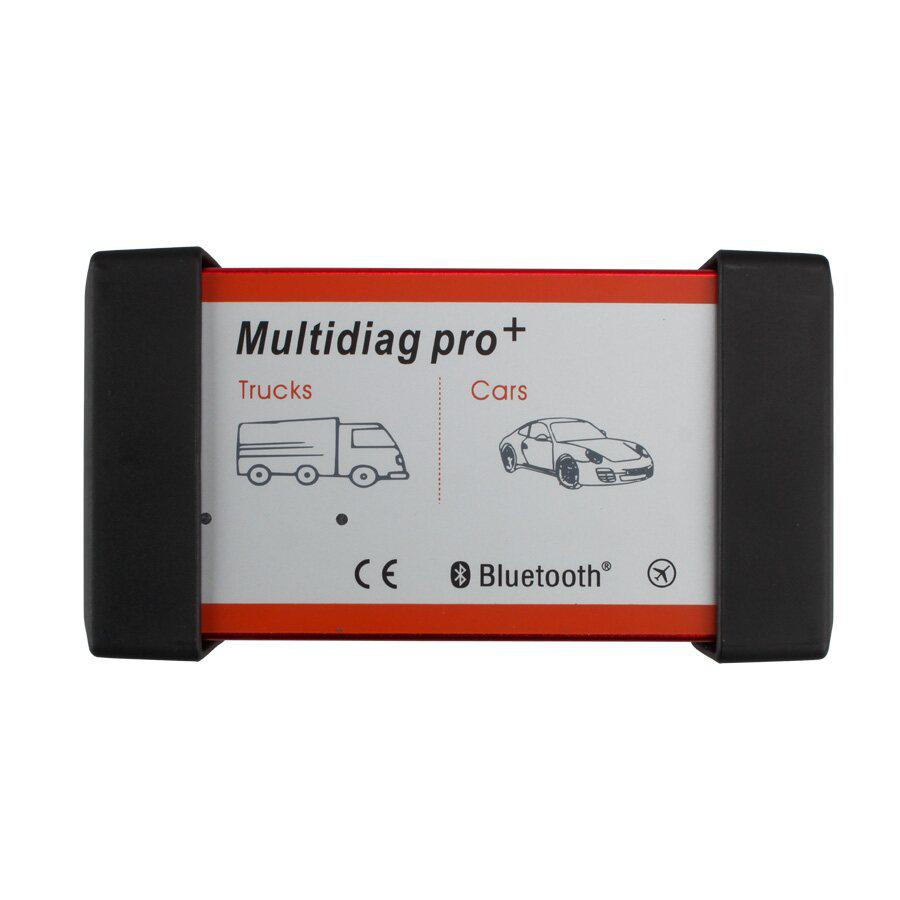 V2016R1 New Design Multidiag Pro CDP+ For Cars/Trucks And OBD2 With Bluetooth and 4GB Card Plus Car Cables Support  Win8