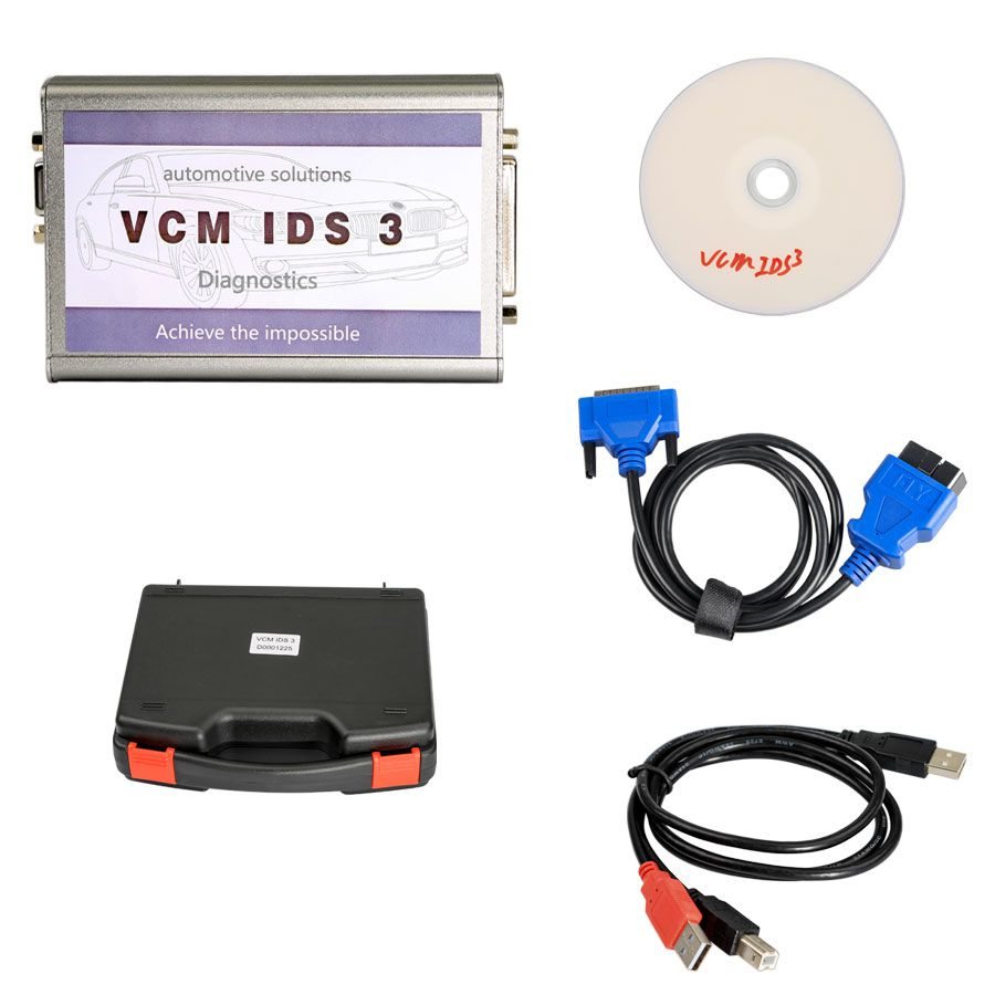 VCM IDS 3 V107 OBD2 Diagnostic Scanner Tool for Ford and Mazda