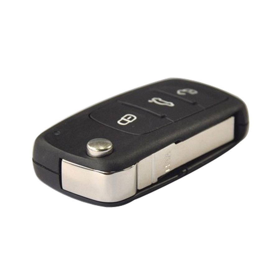 New 3 Button Remote Flip Key 434MHz 5K0 837 202 AD CAN Chip Inside For VW