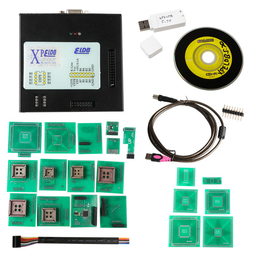 Latest Version XPROG-M V5.74 X-PROG Box ECU Programmer with USB Dongle
