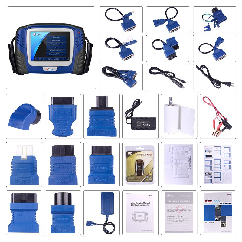 XTOOL PS2 GDS Gasoline Bluetooth Diagnostic Tool