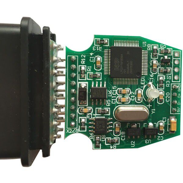 MINI VCI for TOYOTA Single Cable PCB 1